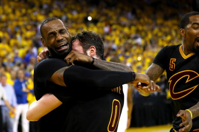 Cleveland Cavaliers mistrzami NBA!