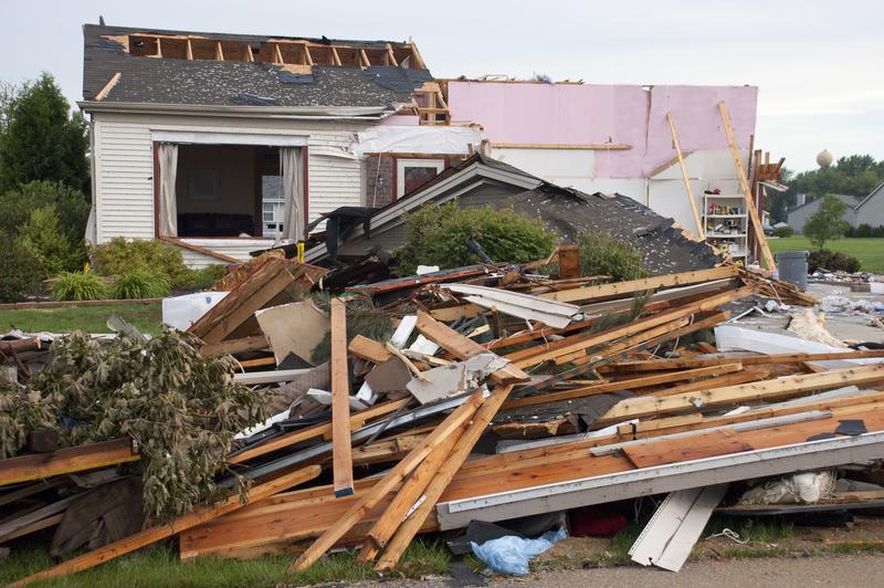 Illinois dotknięte przez 8 tornad