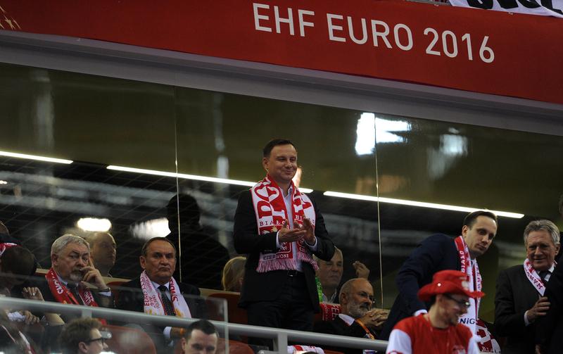 Prezydent Duda będzie kibicował na stadionie w Nicei