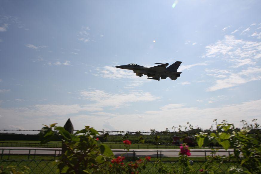 W Kalifornii rozbił się myśliwiec F-16