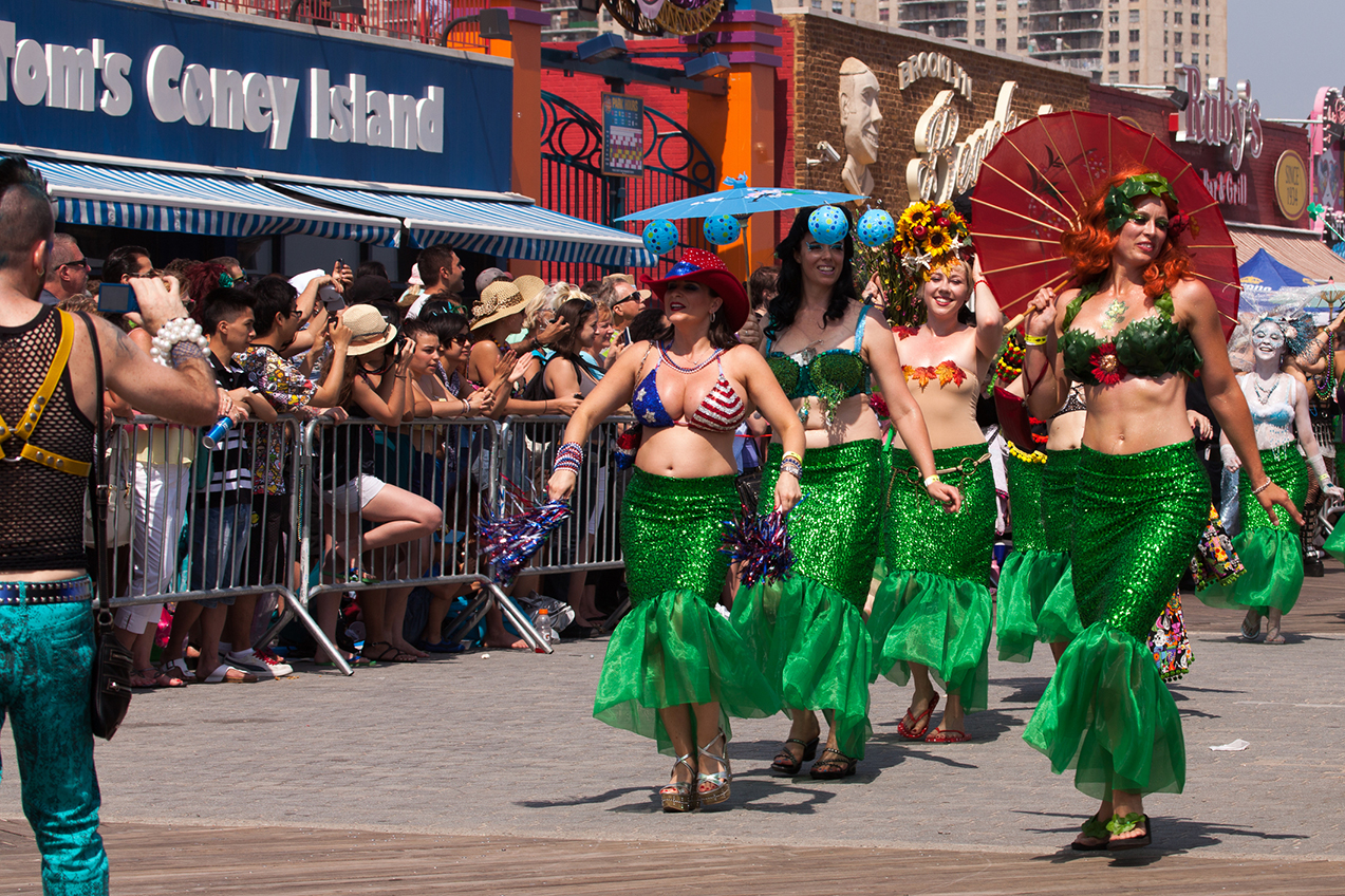 Mardi Gras na Coney Island