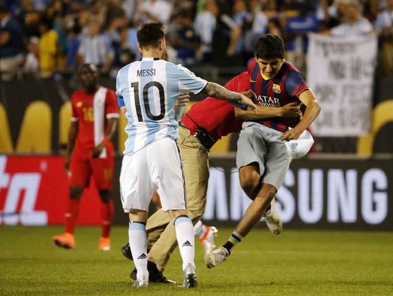 Copa America. Kibic rzucił się na Messiego (zdjęcia)
