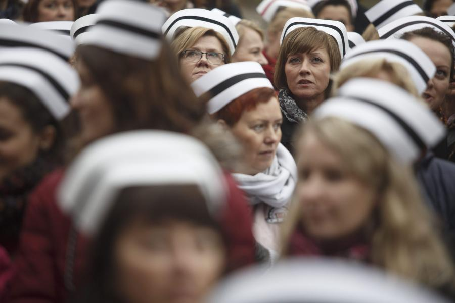 Protest pielęgniarek. Minister zdrowia: Sytuacja jest nieustannie monitorowana