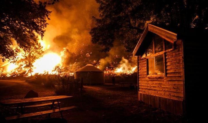 Groźne pożary lasów na południu USA