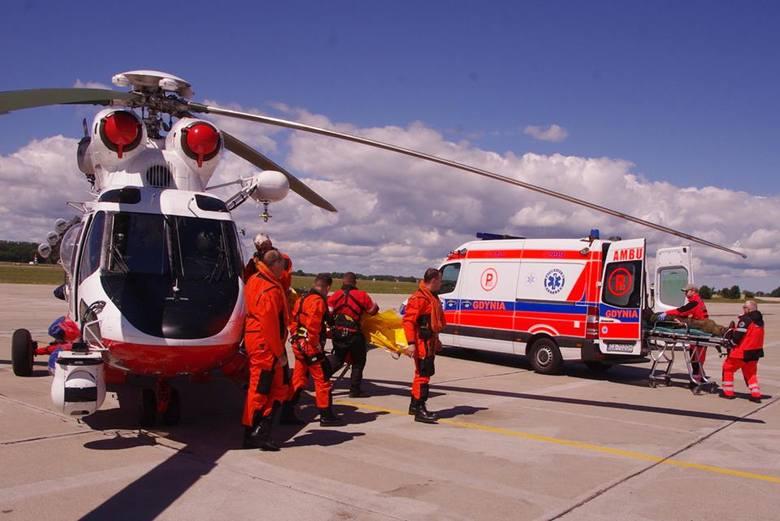 Apel o pomoc w ustaleniu sprawców oślepienia załogi śmigłowca