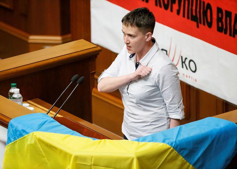Nadija Sawczenko aresztowana. Zatrzymania dokonała Służba Bezpieczeństwa Ukrainy