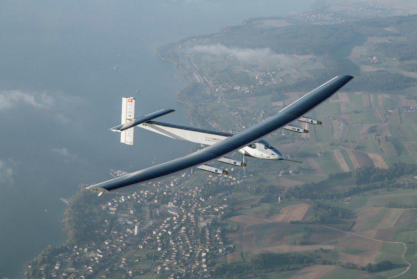 Solar Impulse 2 znów leci