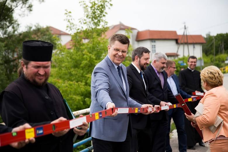 Nowy most w Supraślu na Podlasiu