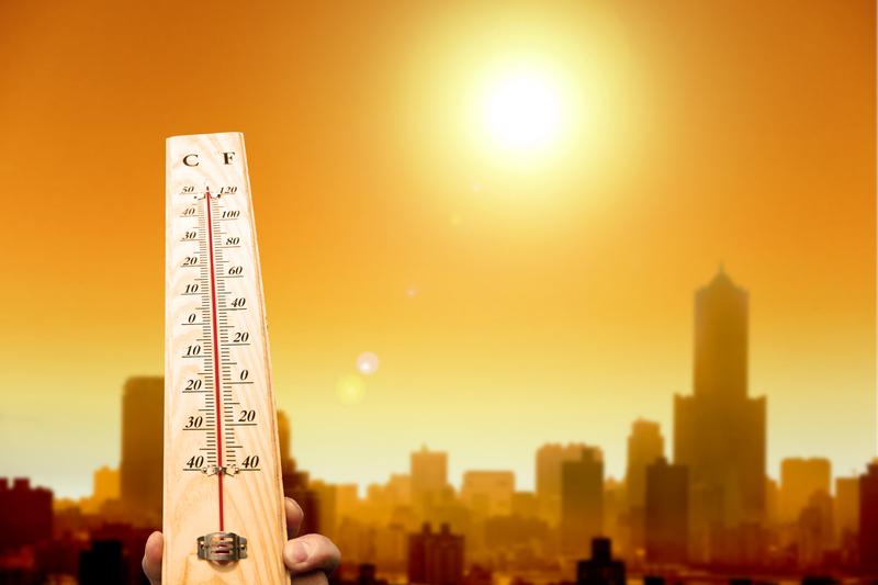 54ºC !  Amerykę czekają rekordowe upały!