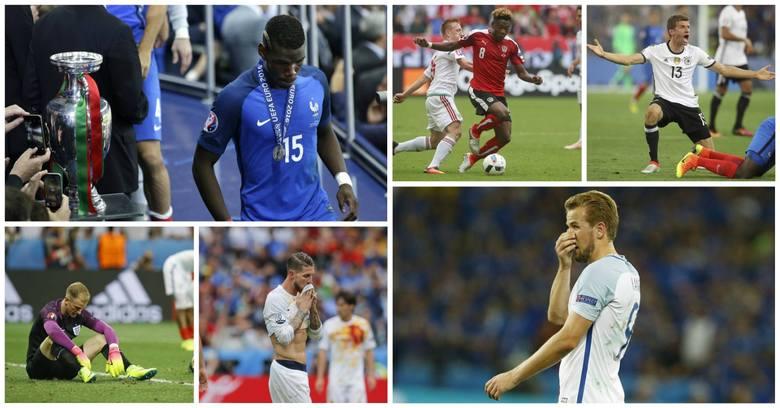 Antyjedenastka Euro 2016 – Oni zawiedli najbardziej