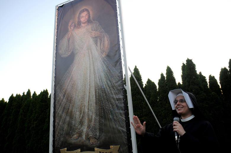 ŚDM – Obraz Jezusa  ze zdjęć selfie