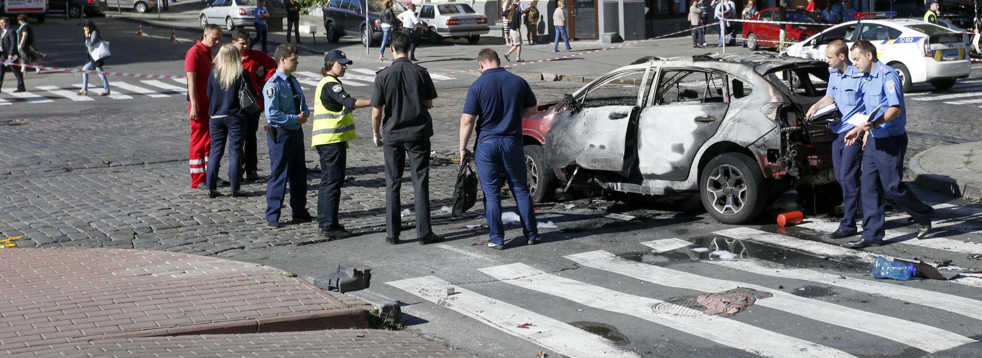 Kijów: wybuch w samochodzie, to był zamach. Nie żyje znany dziennikarz Paweł Szeremet