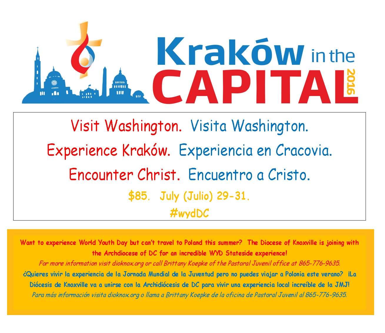 """""""Kraków in the Capital"""" na Katolickim Uniwersytecie w Waszyngtonie"""