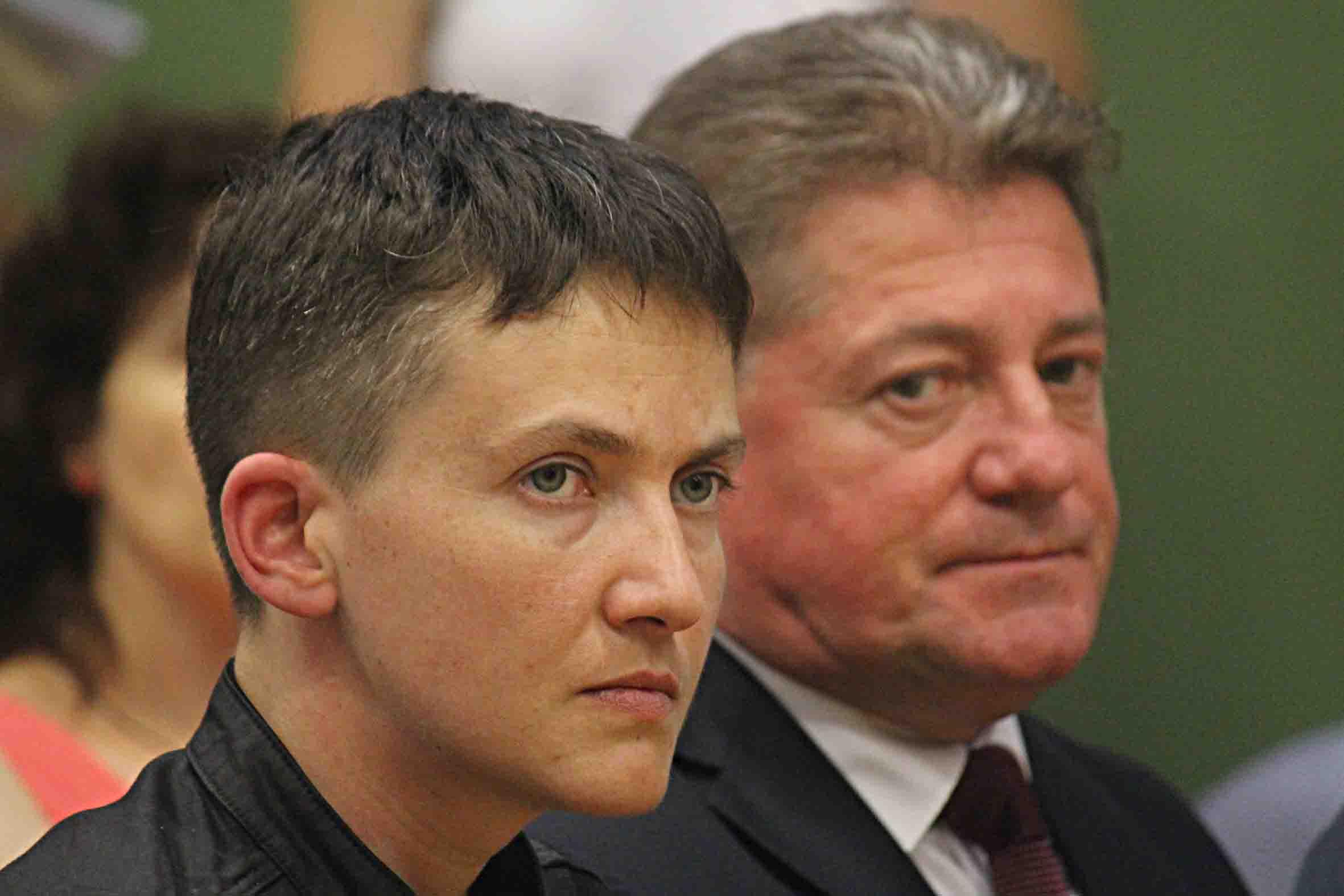 Nadia Sawczenko na szczycie NATO: Świat powinien cieszyć się harmonią