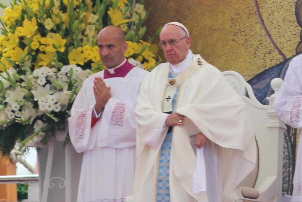 Papież Franciszek: Rocznica Chrztu waszego narodu zbiega się z Jubileuszem Miłosierdzia