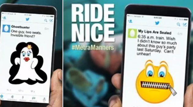 Dobre maniery w Metrze – ruszyła kampania