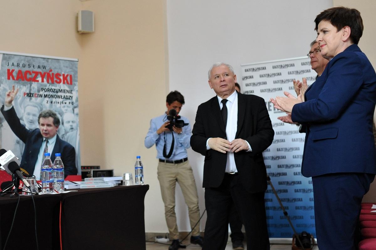 Premiera nowej książki Jarosława Kaczyńskiego