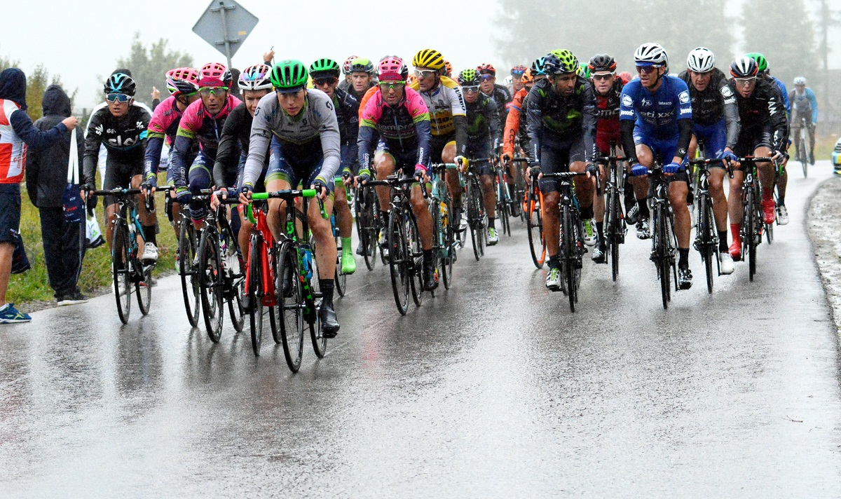 Kolarstwo.  Tour de Pologe: Mezgec wygrał 5. etap, Majka szósty