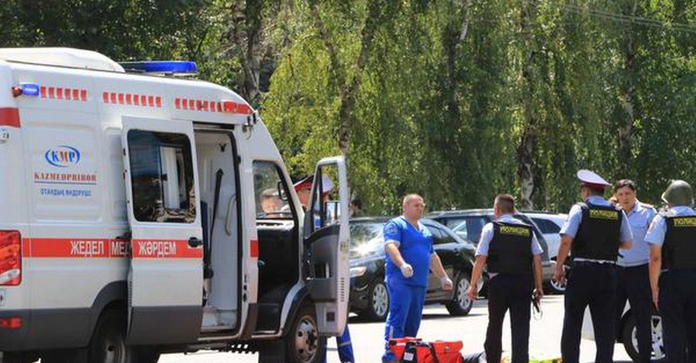 Napad na komendę policji w Ałma-Acie. 6 ofiar śmiertelnych, 8 rannych