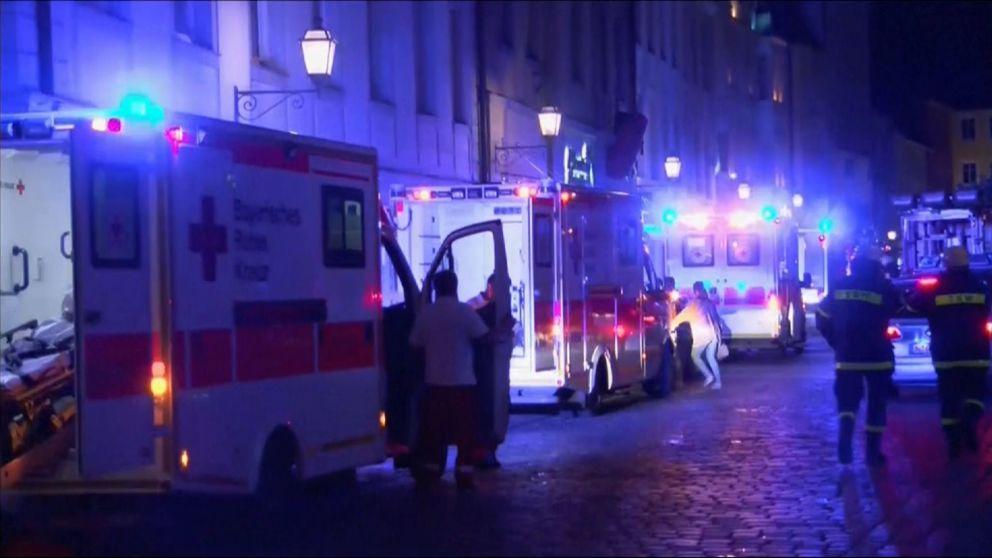 Niemcy: Eksplozja w restauracji w Ansbach