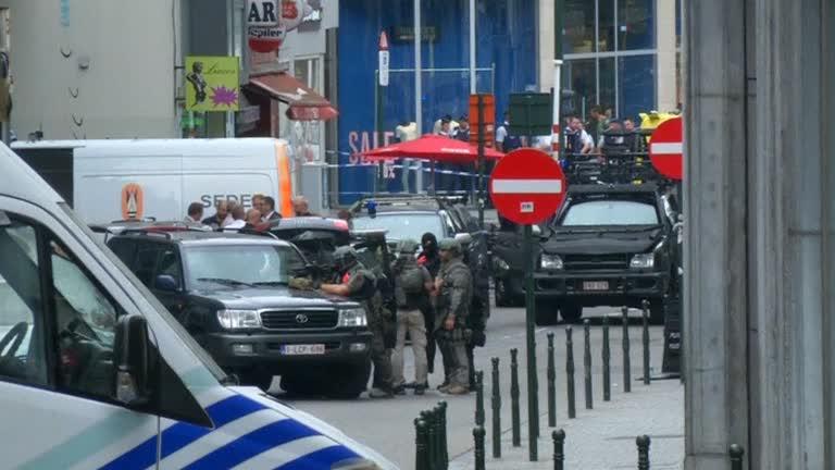 Ewakuacja centrum Brukseli w wyniku akcji antyterrorystycznej