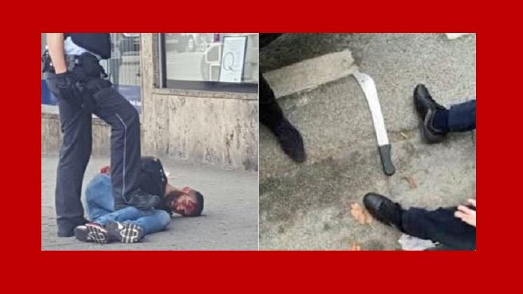 Polka ofiarą ataku maczetą w Niemczech