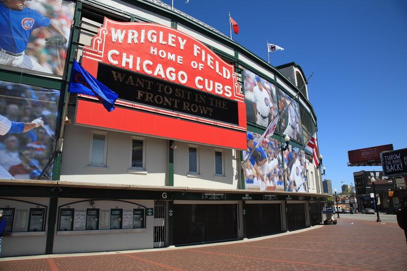Wrigley Field najpopularniejszym budynkiem w Illinois