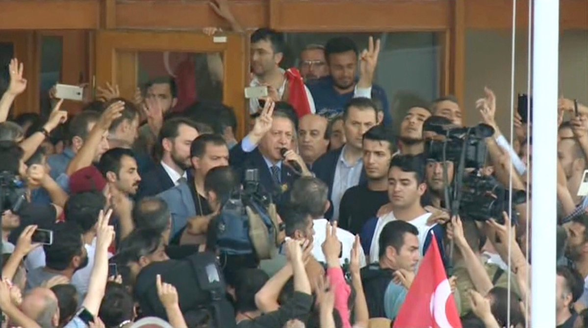 Turcja po próbie wojskowego zamachu stanu