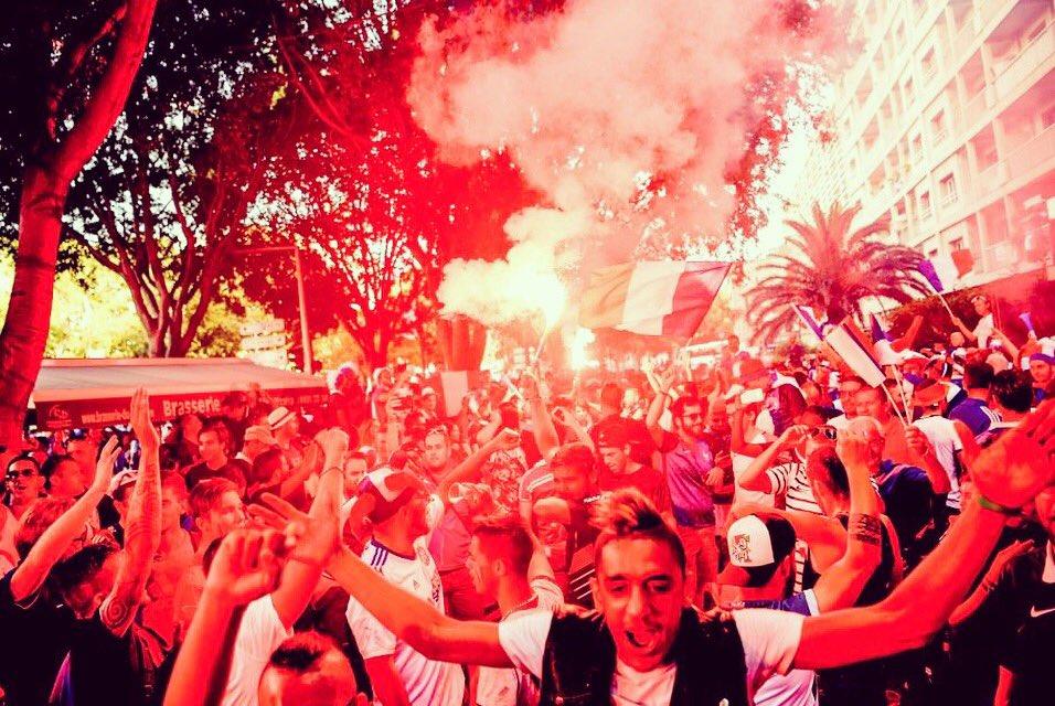 Marsylia ogarnięta gorączką meczu Francja – Niemcy