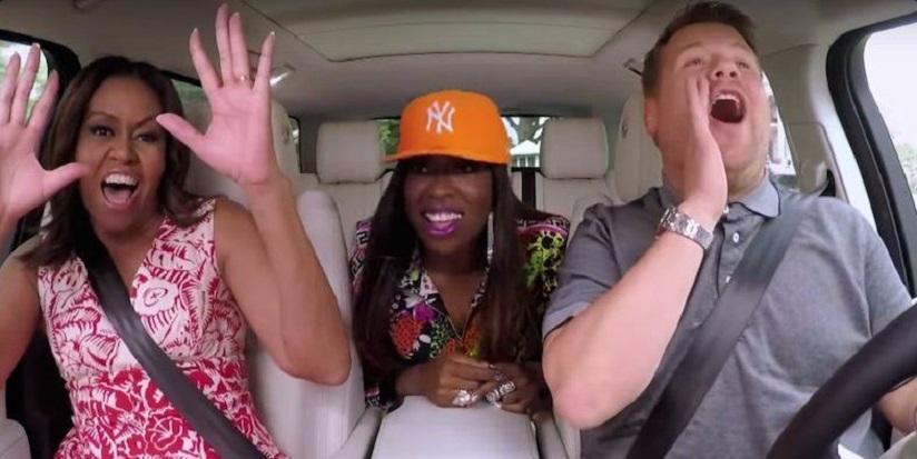 Pierwsza Dama USA w Carpool Karaoke (video)
