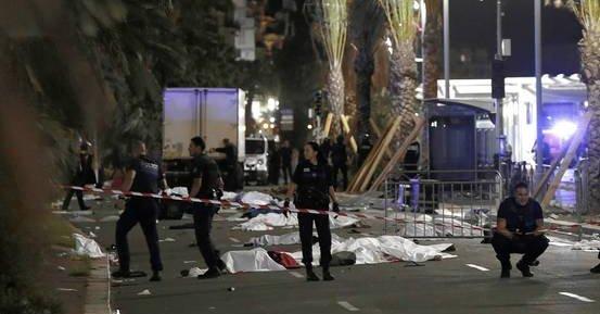Świat wstrząśnięty tragedią w Nicei