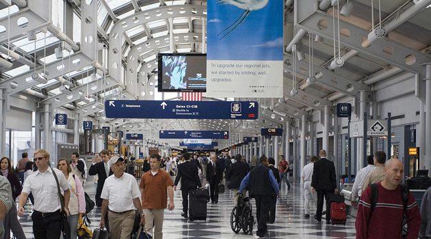 Prawie 80 milionów pasażerów skorzystało w 2017 roku z lotniska O'Hare