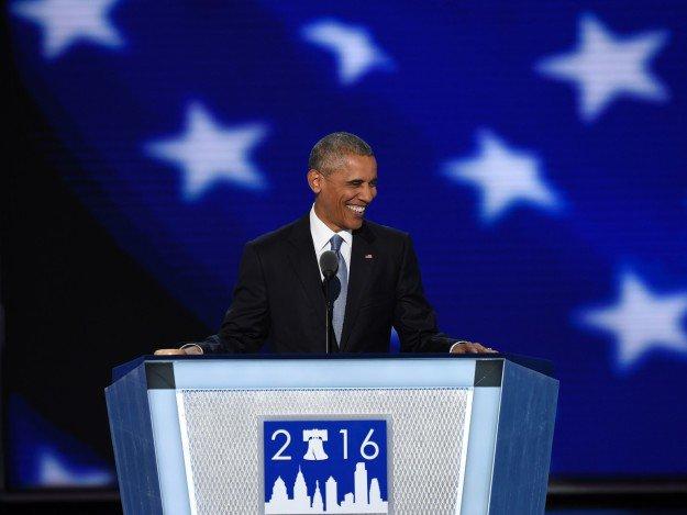 Barack Obama wezwał do głosowania na Hillary Clinton