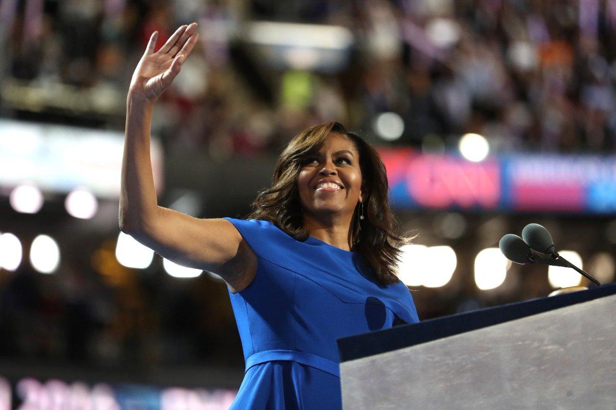 Michelle Obama wezwała Amerykanów do głosowania na Hillary Clinton