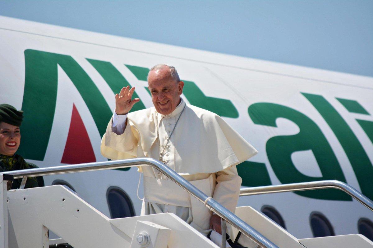 Papież Franciszek jest już w Polsce !
