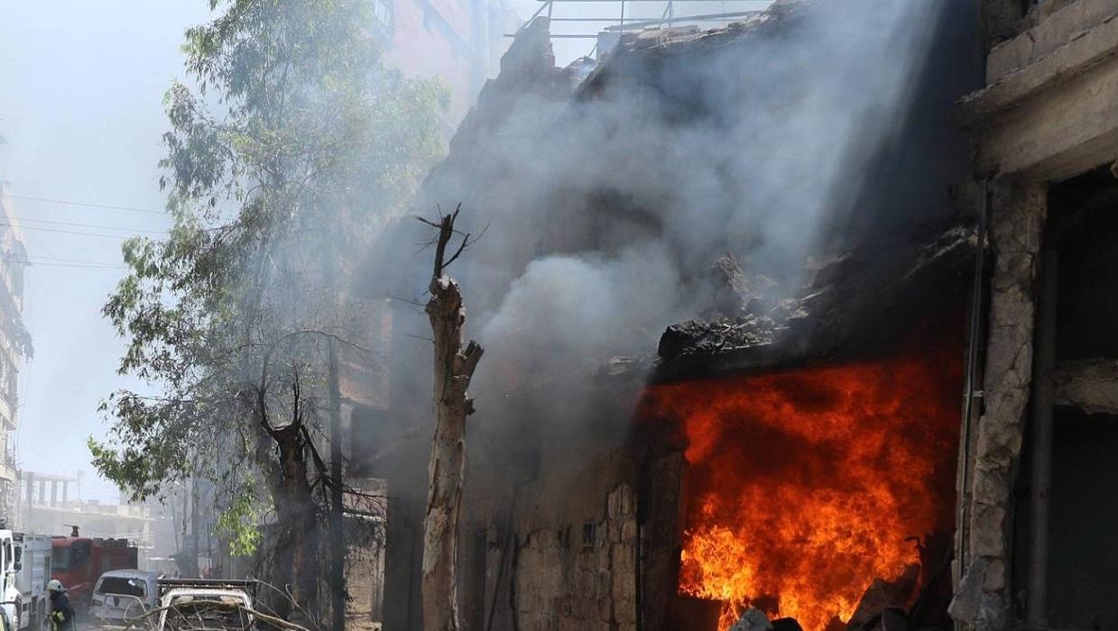 Syria: Izraelski atak w rejonie Aleppo
