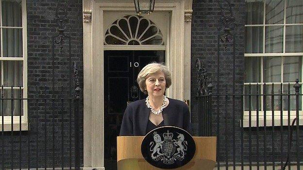 Theresa May zapowiedziała dymisję