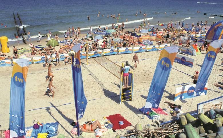 TVN na plaży w Mielnie już w ten weekend