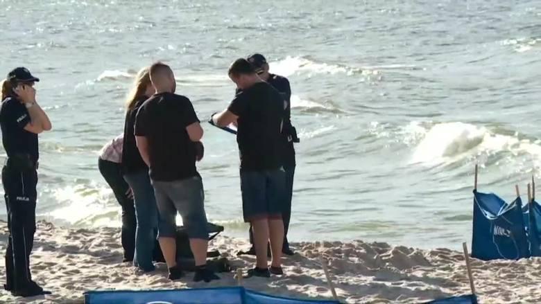 Znaleziono ciało 13-latka, który wieczorem wszedł do morza w Rewalu
