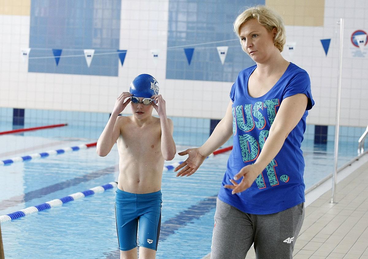 Otylia Jędrzejczak: Sport powinien być częścią życia