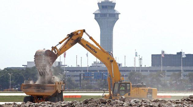 Włądze Chicago planują poważną modernizację lotniska O'Hare
