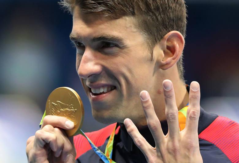 Leonidas naszych czasów. Phelps nie do zatrzymania