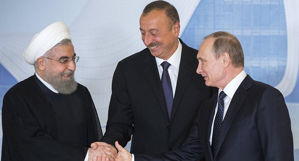 Spotkanie prezydentów Rosji, Iranu i Azerbejdżanu