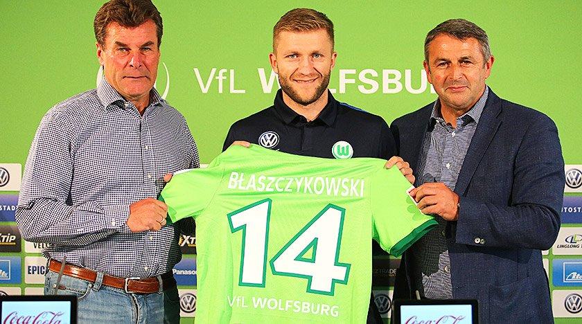 Jakub Błaszczykowski zadebiutował w barwach VfL Wolsfburg