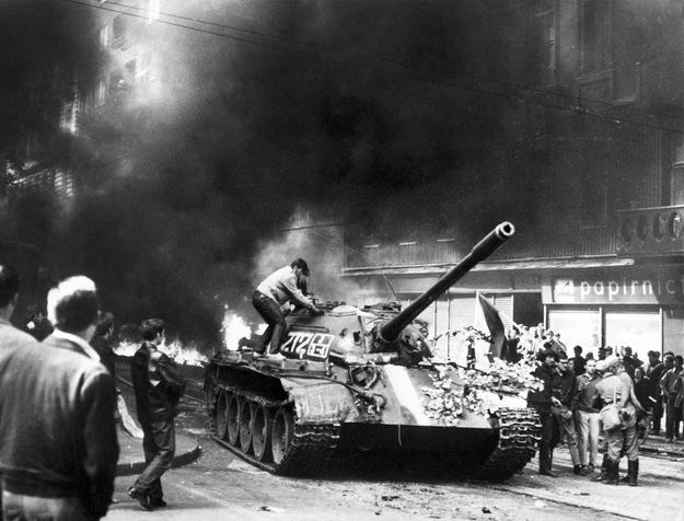 48. rocznica inwazji na Czechosłowację