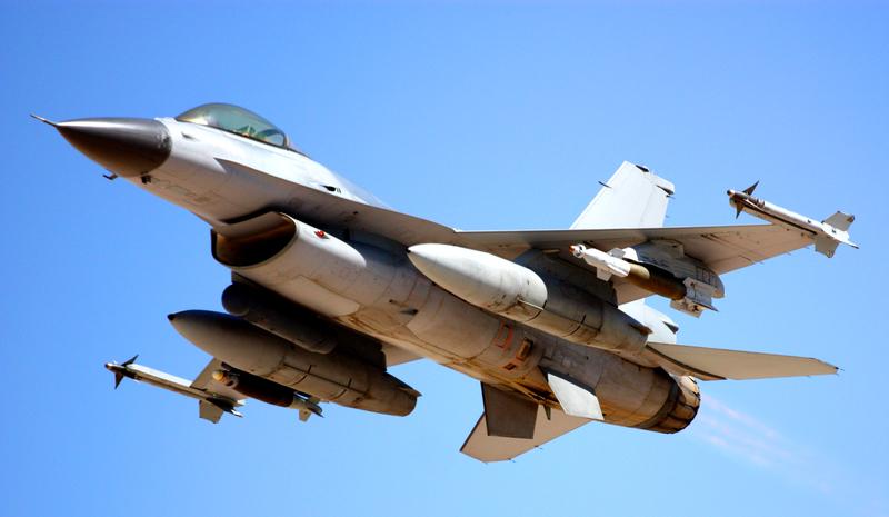 Zniszczono amunicję z myśliwca F-16, który rozbił się w Kalifornii