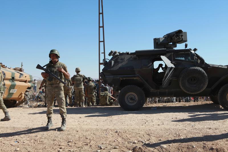 Tureckie wojsko atakuje miejscowości w północnej Syrii