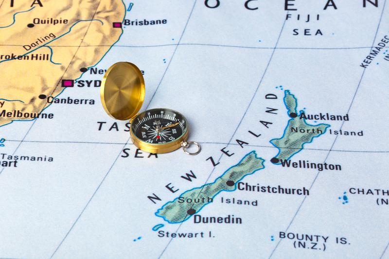 Nowa Zelandia: Wyspy się… zbliżyły