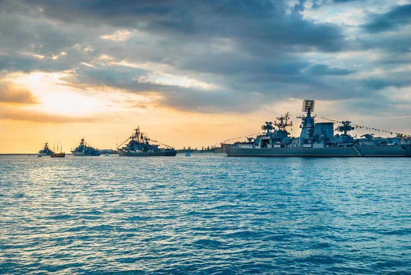 Manewry rosyjskiej floty wojennej we wschodniej części Morza Śródziemnego