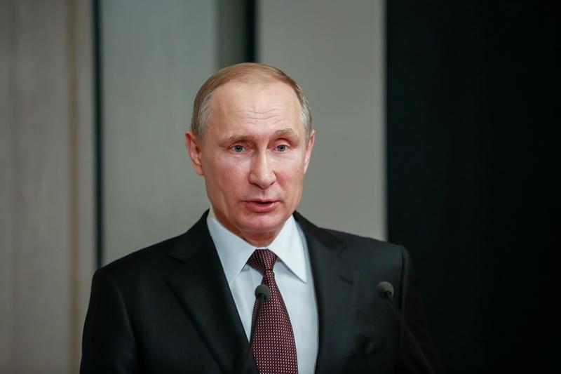 Władimir Putin z wizytą w Japonii